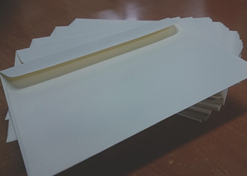 Envelope About Us